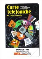 Carte Telefoniche De Agostini 1000 Lire Cod.schede.048 - Public Advertising