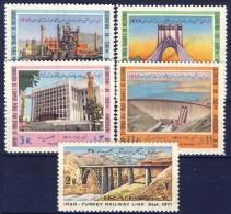 ##B974. Iran 1971. Michel 1521-25. MNH(**). See Description! - Iran