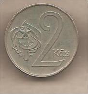 Cecoslovacchia - Moneta Circolata Da 2 Corone - 1975 - Cecoslovacchia