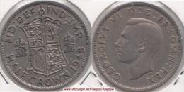 Gran Bretagna ½ Crown 1947 KM#866 - Used - 1902-1971 : Monete Post-Vittoriane