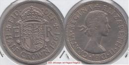 Gran Bretagna ½ Crown 1961 Km#907 - Used - 1902-1971 : Monete Post-Vittoriane