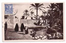 CPSM Photo Tunisie Chenini Rue à Travers Le Village édit Sadok Haider à Gabès N°41 écrite Timbrée 1935 - Tunisie