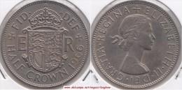 Gran Bretagna ½ Crown 1966 Km#907 - Used - 1902-1971 : Monete Post-Vittoriane