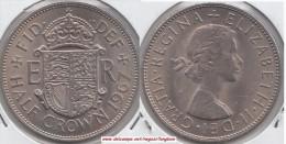 Gran Bretagna ½ Crown 1967 Km#907 - Used - 1902-1971 : Monete Post-Vittoriane
