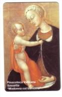 Pinacoteca Vaticana Madonna Col Bamino 5000 Lire Nuova Cod.schede.057 - Vatican