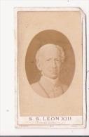 S S LEON XIII ELU PAPE LE 20 FEVRIER 1878 PHOTO PETIT FORMAT  AVEC PORTRAIT AUTHENTIQUE (PHOT F DUBOSC AUCH) - Famous People