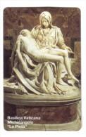 Basilica Vaticana Michelangelo La Pietà 5000 Lire Nuova Cod.schede.058 - Vaticano