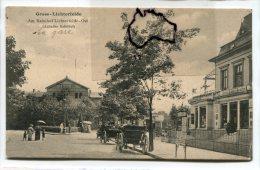 - Berlin - Gross-Lichterfeld- Ost - Am Banhof, Anhalter, Animation, La Gare, Calèches, Non écrite, , TBE, Scans - Lichterfelde