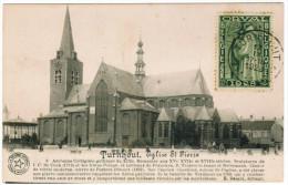 Turnhout Eglise St Pierre, Postzegel Orval 35c + 10c, 1928 (pk21261) - Turnhout
