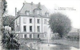 Nos Châteaux En Auvergne - Blanzat, Canton De Cébazat - Le Château - Très Beau Plan - Autres Communes