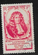 N° 779  FRANCE OBLITERE -  MARQUIS DE LOUVOIS -  1947 - Usados