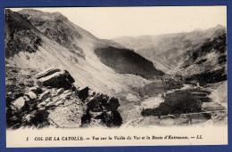04 UVERNET FOURS Col De La Cayolle, Vue Sur La Vallée Du Var Et La Route D'Entraunes - France