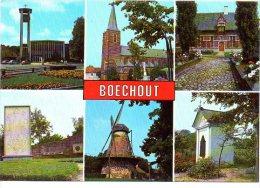 Boechout Multi View Oa Molen Kapel  Moulin Chapelle  Groeten Uit - Böchout