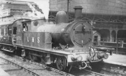 L&Y 2-4-2T Locomotive At Manchester London Rd Railway StaTION - Railway