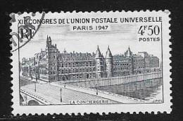 N° 781  FRANCE OBLITERE -  CONCIERGERIE -  1947 - Usados