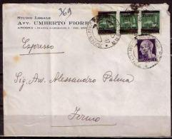 F2710  - ESPRESSO LUOGOTENENZA - 5. 1944-46 Lieutenance & Humberto II