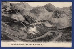 04 UVERNET FOURS Col De La Cayolle, Les Lacets De La Route - France