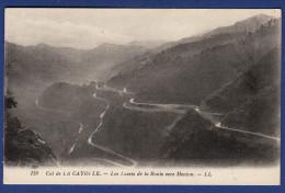 04 UVERNET FOURS Col De La Cayolle, Les Lacets De La Route Vers Menton - France