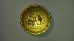 Médaille EXPO Philatélique 1970 - Club Malibran - Jumelage IXELLES / BIARRITZ - Expositions Philatéliques
