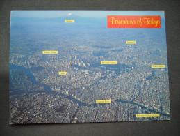 Japan - Panorama Of TOKYO - Unused - Tokio