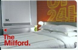 HOTEL MILFORD NEW YORK, llave clef key keycard karte