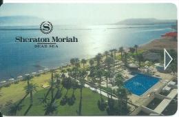 HOTEL SHERATON MORIAH DEAD SEA ISRAEL llave clef card keycard karte