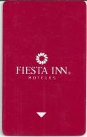 HOTEL FIESTA INN MEXICO  llave clef card keycard karte