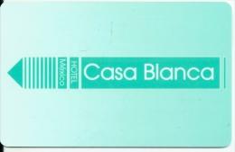 HOTEL CASA BLANCA MEXICO  llave clef card keycard karte