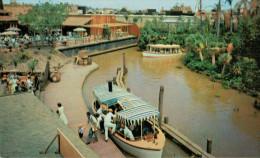 "DISNEYLAND -ADVENTURELAND        THE  "" RIVERS  OF  THE  WORLD""      (NUOVA) - Disneyland"