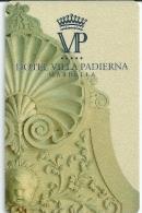 HOTEL VILLA PADIERNA MARBELLA ESPA�A  llave clef card keycard karte