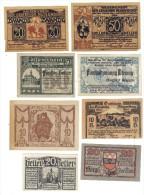 Austria 10+20+25+50 Heller Lotto 8 Notgeld  Lotto 1272 - Austria