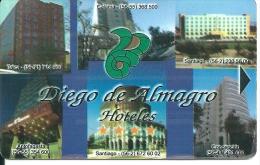 HOTEL DIEGO DE ALMAGRO CHILE  llave clef card keycard karte