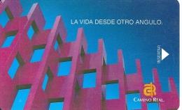 HOTEL CAMINO REAL MEXICO  llave clef card keycard karte