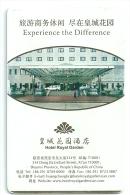 HOTEL ROAYL GARDEN SHANGAI CHINA  llave clef card keycard karte