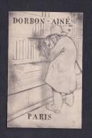 Paris 9è - Carte Illustrée Signée Publicitaire Librairie Dorbon Aine 19 Boulevard Haussmann ( Bibliophile ) - Paris (09)