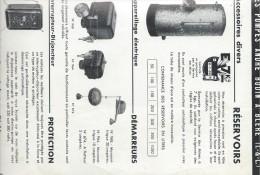 Electro-Pompes Centrifuges/Pompes André BODIN/Bléré/Indre & Loir/ Vers 1950  VPN16 - Francia