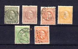 Guillaume III, 3 / 16 Ø, Cote Yv.  195 €, - Niederländisch-Indien