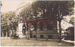 LATVIA 1920s LIBAU LIEPAJA TOWN VIEW NATIONAL BANK Aa643 - Latvia