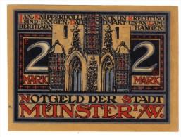 Munster / W 1921 2 Mark  Lotto 1278 - [11] Emissioni Locali