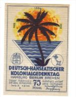 Deutsch-hanseatischer Kolonialgedenktag Berlin 1922 75 Pfennig  Lotto 1279 - [11] Emisiones Locales