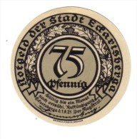 Germania Germany 1921 75 Pfennig  Lotto 1281 - [11] Lokale Uitgaven