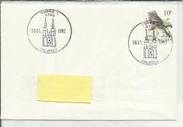 4700 Eupen 1.   6-1-1992 - Guichet Philatélique - Timbre N° 2351 A. Buzin - Marcophilie
