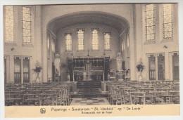 Poperinge, Poperinghe, Sanatorium St Idesbald op de Lovie, binnenzicht van de kapel (pk22483)