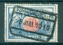 """BELGIE - OBP Nr TR 38 - Cachet  """"TURNHOUT Nr 1"""" - (ref. VL-9399) - Chemins De Fer"""