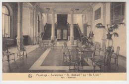 Poperinge, Poperinghe, Sanatorium St Idesbald op de Lovie, hall wachtzaal (pk22484)