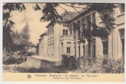Poperinge, Poperinghe, Sanatorium St Idesbald op de Lovie, Paviljoen St Louis. de voorkant (pk22486)