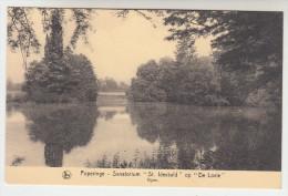 Poperinge, Poperinghe, Sanatorium St Idesbald op de Lovie, vijver (pk22489)