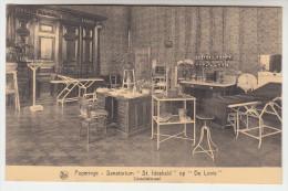 Poperinge, Poperinghe, Sanatorium St Idesbald op de Lovie, consultatiezaal (pk22495)