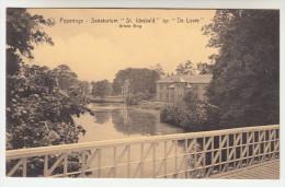 Poperinge, Poperinghe, Sanatorium St Idesbald op de Lovie, grote brug (pk22496)