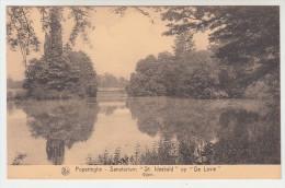 Poperinge, Poperinghe, Sanatorium St Idesbald op de Lovie, vijver (pk22497)